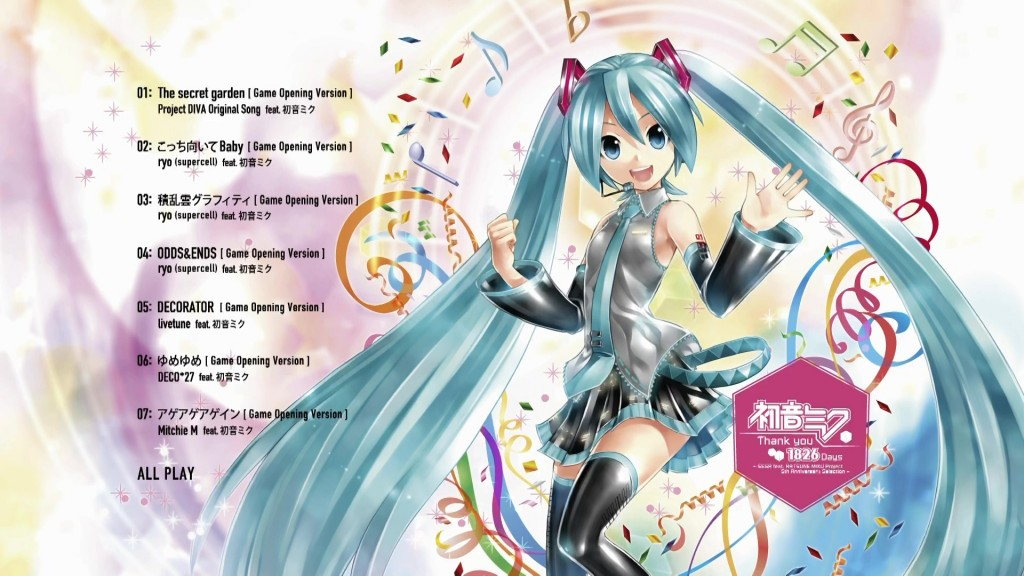 [Vmoe-Raws]Thank you 1826 Days~SEGA feat.HATSUNE MIKU Project 5th Anniversary Selection